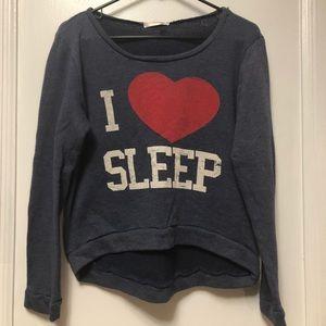 'I LOVE SLEEP' Sweatshirt